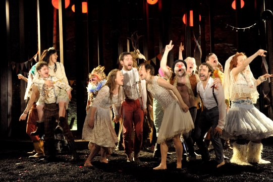 RSC production of As You Like It, photo: Keith Pattison