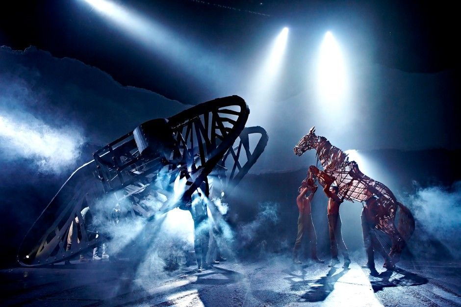 War Horse at the New London Theatre, photo by Brinkhoff Mögenburg