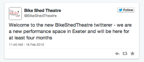 Bike Shed Theatre