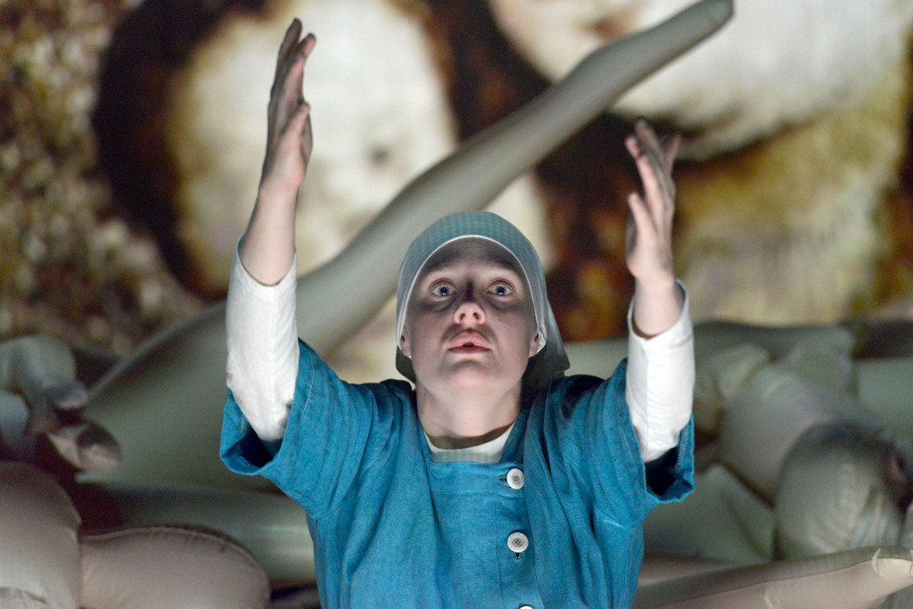 Romola Garai Measure for Measure Shakespeare young Vic 2015 review blog